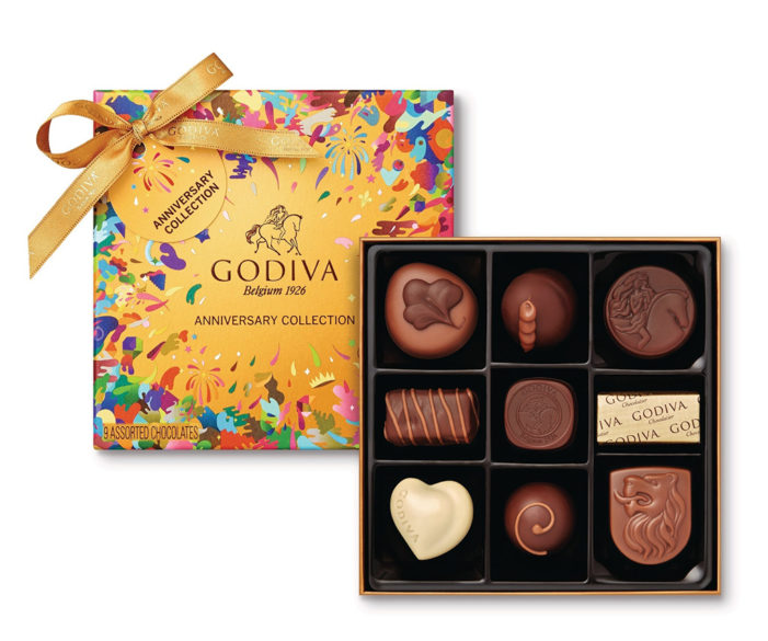 Godiva Marks 90 Years with Limited Edition Gold Anniversary Collection