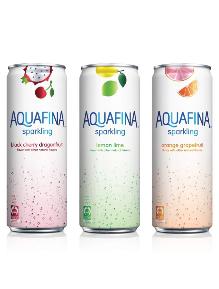 Aquafina Unveils New Line Of Flavoured Sparkling Water