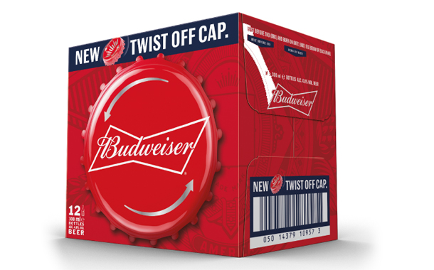 Budweiser to Launch Twist-Offs in the UK