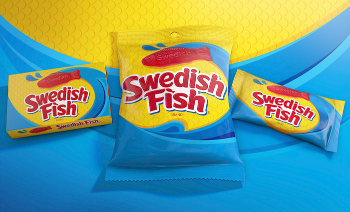 Swedish Fish Set to Make Waves with Bold New Branding by Bulletproof