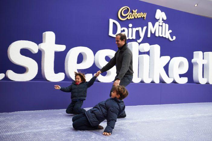 Cadbury Unveils 'Tastes Like This Feels' Strapline in New Dairy Milk Push
