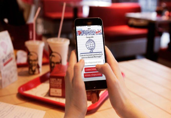 KFC Romania Promotes Education Through Free Wi-Fi