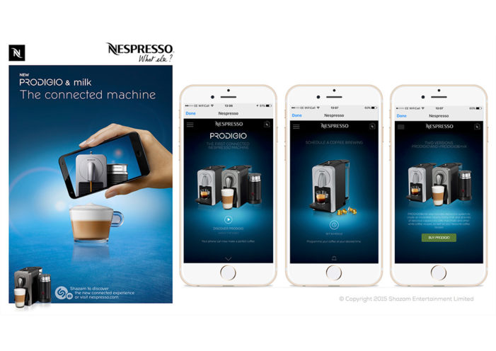 Shazam to Power Nespresso Push for First­ Ever Connected Coffeemaker