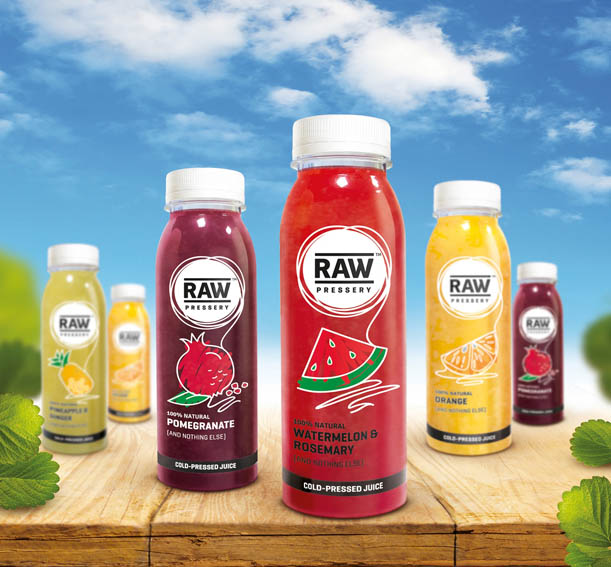 dCell India Develops Visual Identity for Raw Pressery Juices