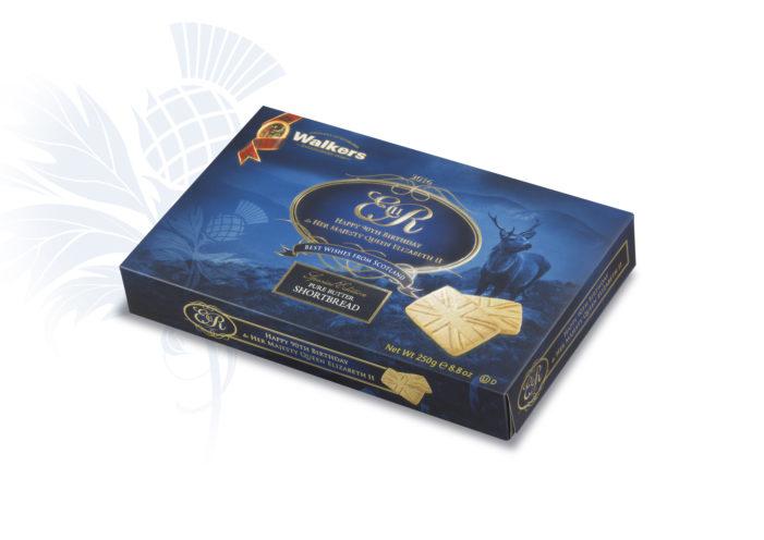 Walkers Shortbread Commemorate Queen's 90th with 'Special Edition' Carton