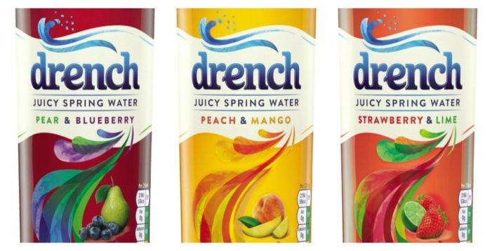 Britvic Jumps on Low-Sugar Bandwagon with Reworked Drench Recipe