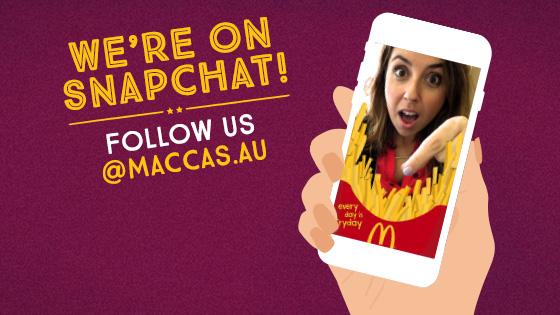 McDonald's Unveils Australia's First Snapchat Sponsored Geofilter Push