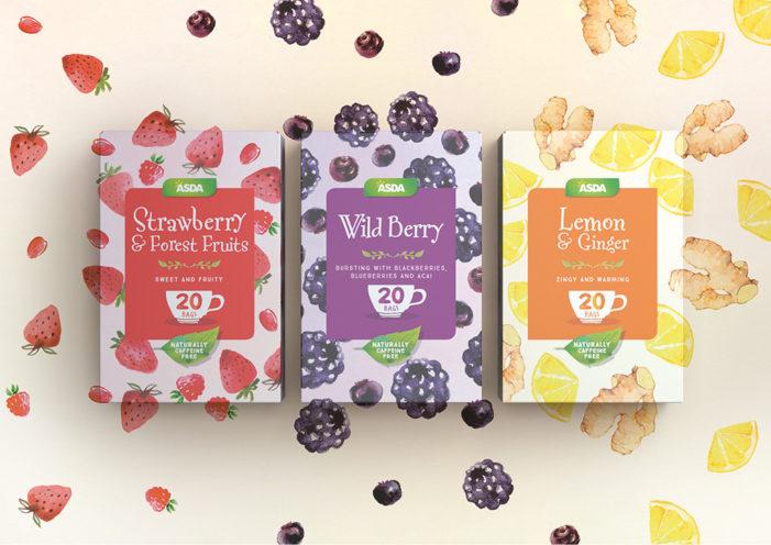 Hornall Anderson Brews up Redesign for Asda Own Label Tea Range