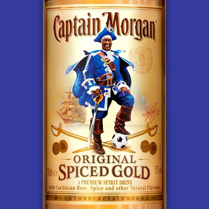 Diageo Celebrate Leicester City Win with 'Only One Captain Morgan' Push