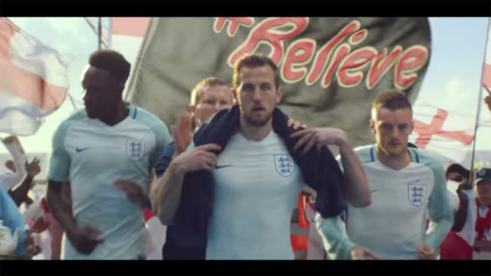England Footballers & Fans 'Invade' France in Mars Ad for Euro 2016
