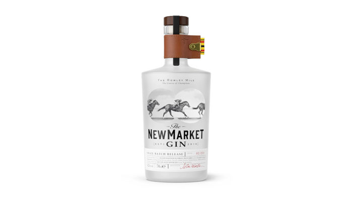 The Newmarket Gin Launches with Horse Racing Themed Design