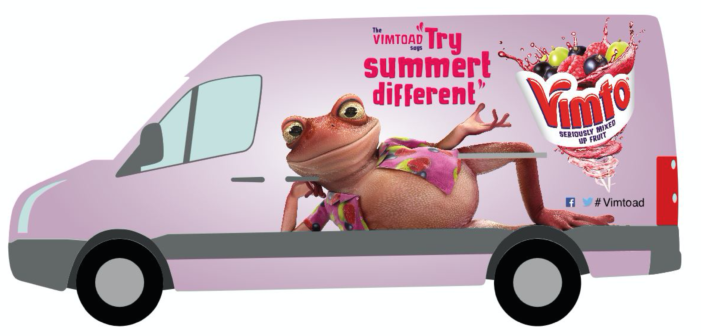 Vimto Van Drive Set to Accelerate Soft Drinks Sales this Summer