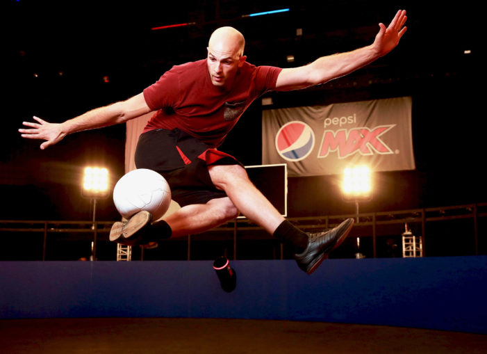 Pepsi Max Takes Genius of Football Volley to Next Level with New Feat
