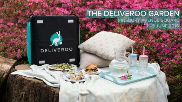 Deliveroo Target Stressed-out Londoners with New Branded Experience
