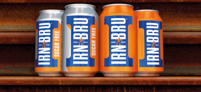 Irn-Bru Embraces its Rich History with New Vintage Redesign