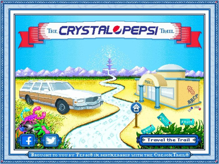 Iconic Clear Cola Crystal Pepsi to Hit North American Shelves this Summer