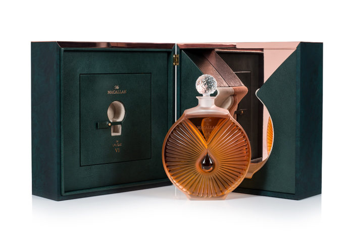 Final Macallan in Lalique Decanter Completes The Six Pillars Collection
