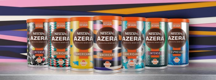 Nescafé Azera & Twelve Tap Young Talent For Range of Iconic New Tins