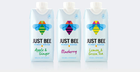B&B Studio Rebrands Premium 'Honey' Water Just Bee