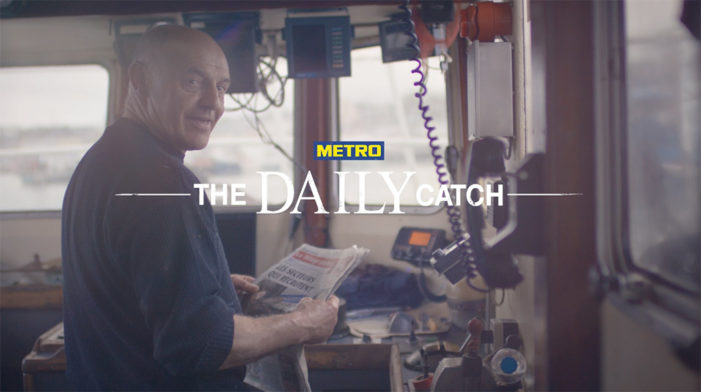"""Serviceplan Group Create """"The Daily Catch"""" For METRO"""