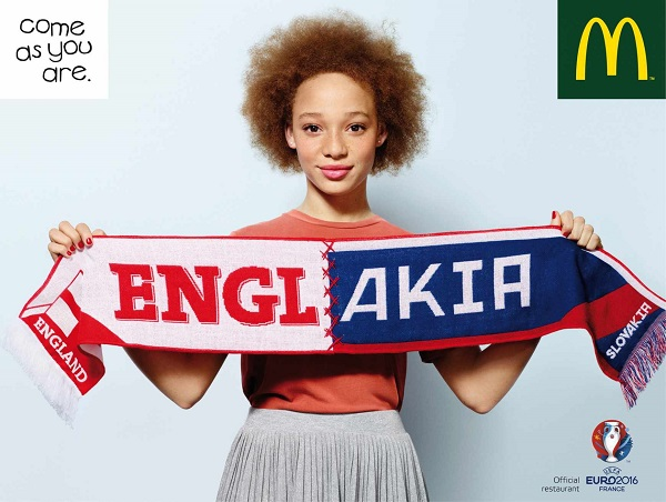 McDonald's Hopes To Unite Nations In Its New Ads For Euro 2016