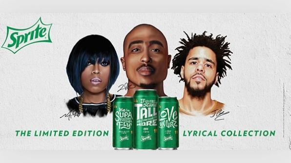 Sprite Unveils Cans Featuring Lyrics From Hip-Hop Legends