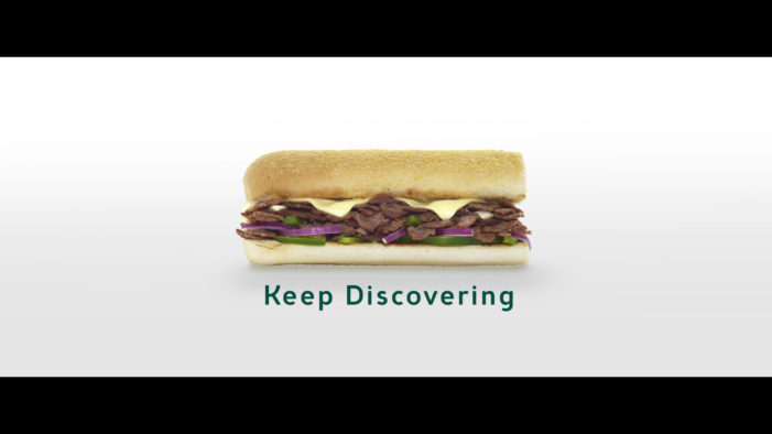 Subway Launches New £2.5m 'Keep Discovering' Brand Campaign