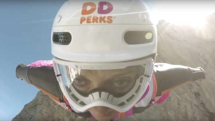 DigitasLBi Call on World's Fastest Flying Woman for Dunkin' Donuts Stunt