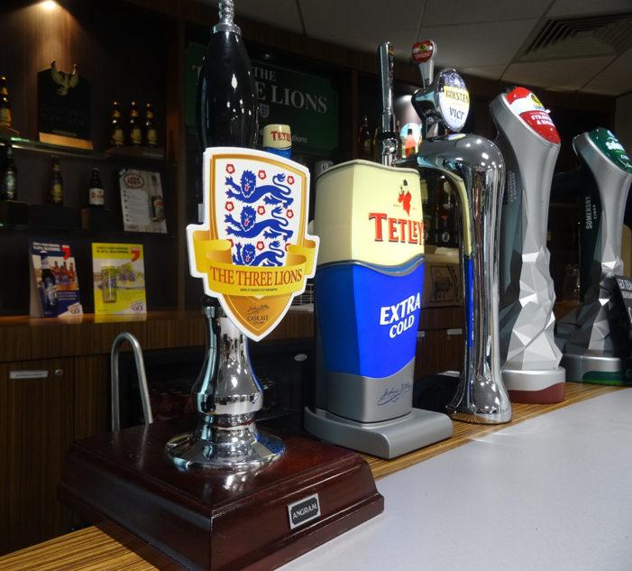 Carlsberg UK's Three Lions Ale Hits the Bar During Uefa Euro 2016