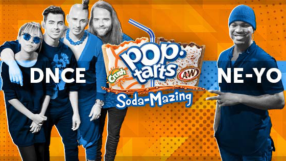 Pop-Tarts Mashes up Summer Music with Universal Music Tie-up