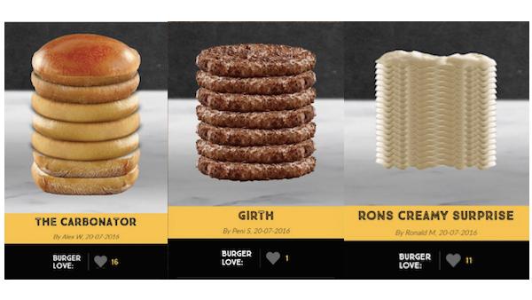 McDonald's Kills Design-a-Burger Promotion After Distasteful Results