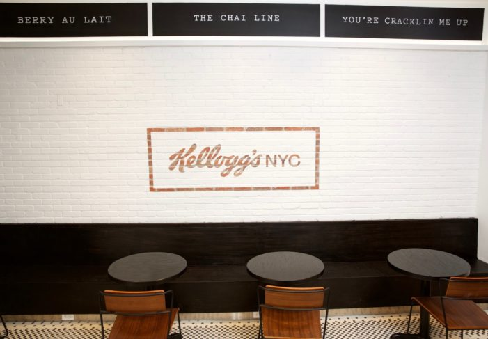 Kellogg's Opens First-Ever Permanent Cafe In New York