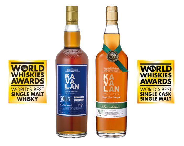 Kavalan Toasts 'World's Best Whisky' Awards