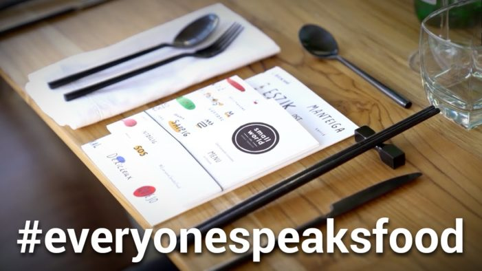Food & Google Come Together in #EveryoneSpeaksFood Experiment