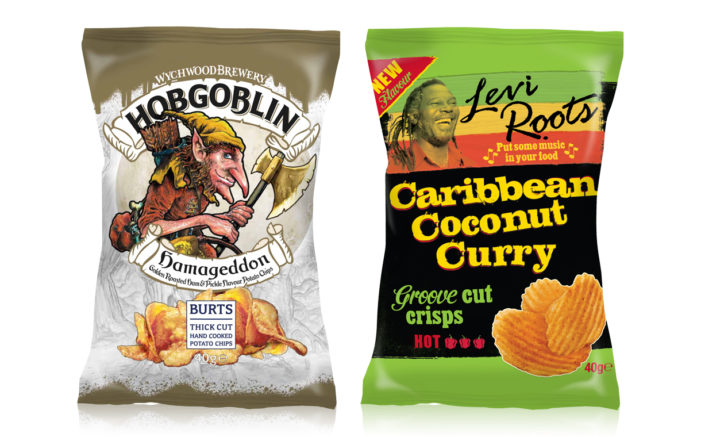 Burts Chips Unveils Two Flavours to Extend Brand Partnerships