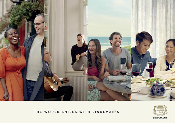 World Smiles with Lindeman's in New Global Push by JWT Melbourne