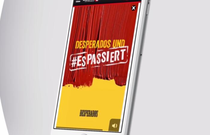 Desperados Premieres Vertical Video Campaign