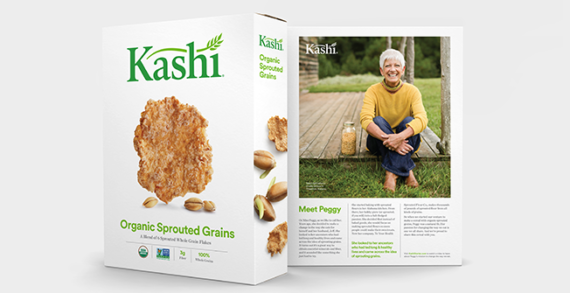 Kashi's New, Simpler Packaging Highlights the Farmers Who Produce It