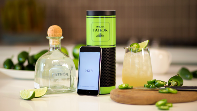 Patrón Help You Find the Perfect Cocktail Using Your Amazon Echo