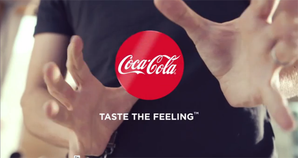 Coca-Cola Introduces Subtle New Packaging Using Actual Magic in Ad