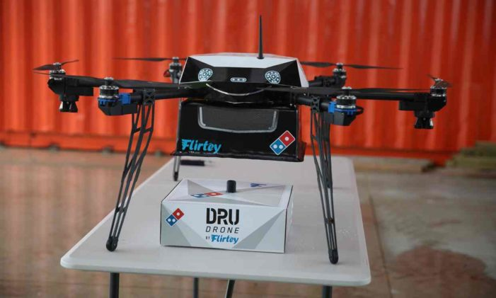 Domino's Planning Drone Pizza Delivery Service in New Zealand