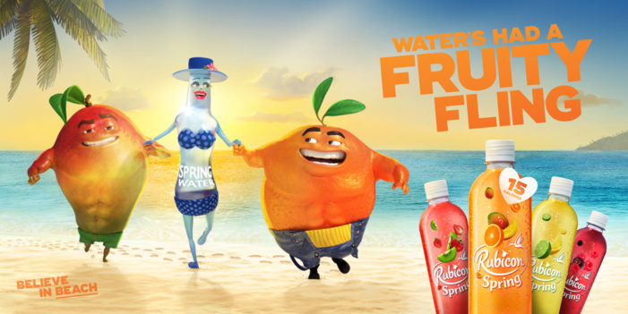 BMB launches £2m 'Fruity Fling' campaign for Rubicon Spring