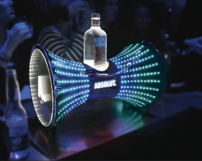 ButterflyCannon Create Exciting New Range of On-Trade Tools for Absolut Vodka