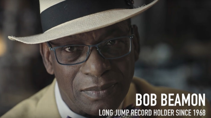 Long Jumper Bob Beamon Dares Athletes to Beat His Record for a Beer