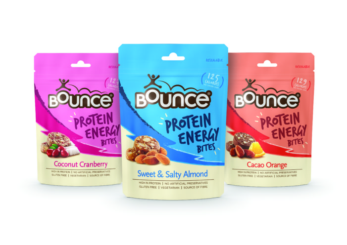 Bounce launch new Protein Energy Bites