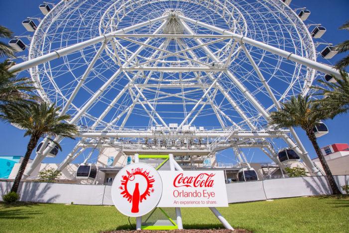The Orlando Eye Becomes The Coca-Cola Orlando Eye