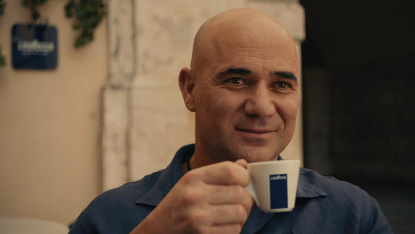 Lavazza Teams with Andre Agassi to Launch Campaign for the US Open