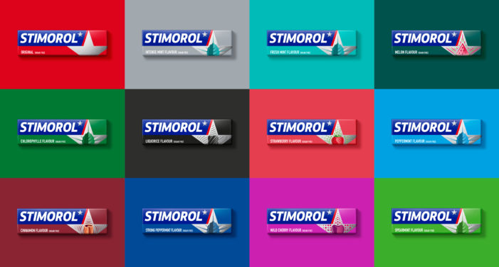 Stimorol set to be star of the gum aisle with revitalised visual identity and portfolio architecture by Bulletproof