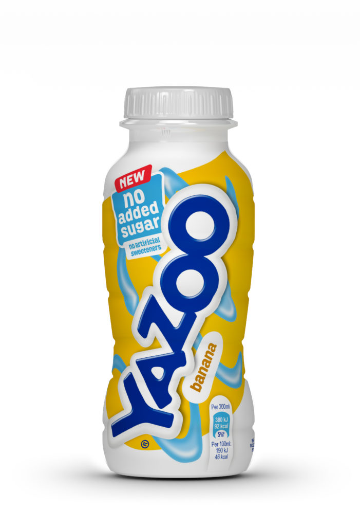 No Added Sugar Innovation From Yazoo Brand In Flavoured Milk Drinks