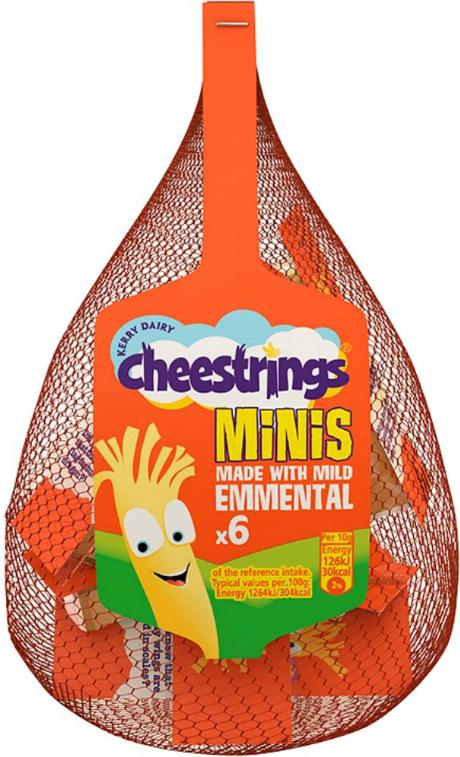 WowMe! designs Kerry Foods' Cheestrings Minis packs